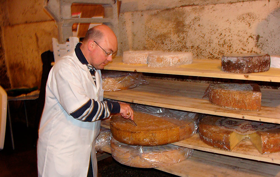 Cheese factory Dufaux