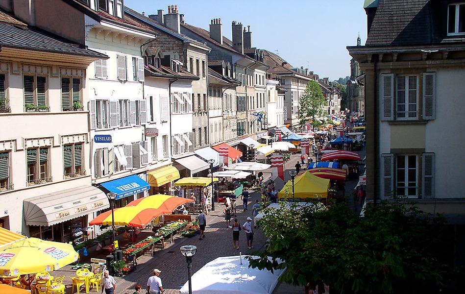 Morges market